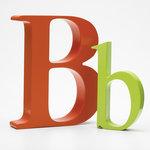 Alpha Art letter B