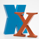 Alpha Art letter X