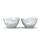 Set 100 ml bowls kissing and grinning from Tassen