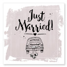 Jots kaart Just married