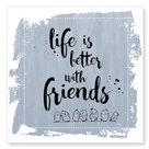 Jots kaart Life better friends