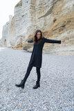 sfeerfoto leuk jurkje travel zwart van Zusss