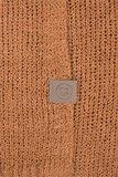 detailfoto nonchalant kort vestje honing van Zusss
