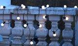 Sfeerfoto Sirius Oscar lichtsnoer startset frosted/warm licht wit