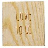 Voorkant doosje van de Love to go van het merk Räder