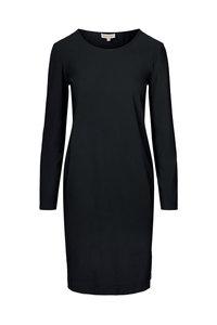 voorzijde leuk jurkje travel zwart van Zusss