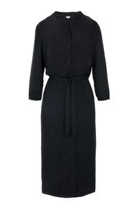 voorzijde van de leuke lange jurk zwart van Zusss