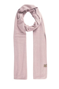 de fijngebreide zachte sjaal lila van Zusss