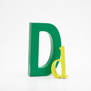 Alpha Art letter D
