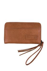 voorzijde van de leuke portemonnee bruin gevlokt van Zusss