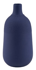 pearl vase design 4 indigo blue van raeder