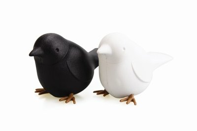 qualy sparrow salt en pepper set