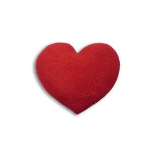 Leschi warmte kussen hart van rood fleece