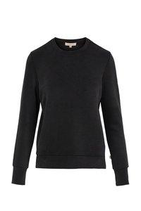 voorzijde van de off-black fijne sweater van zusss