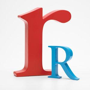 Alpha Art letter R